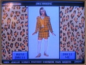 Clueless Cher's Clothes Matching Computer Software