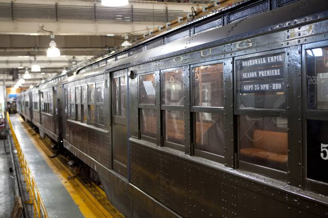 Boardwalk Empire Subway Cars Promotion
