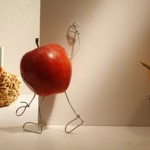 Turning Apples into Candy Apples by Terry Border