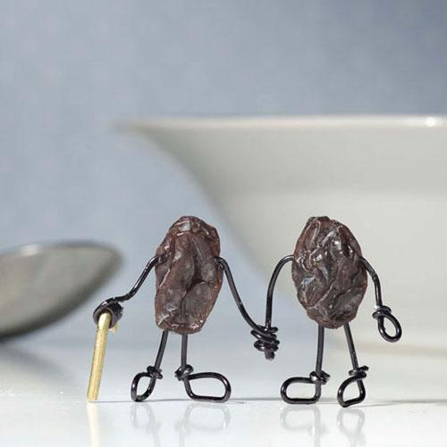 Wrinkled Raisins by Terry Border