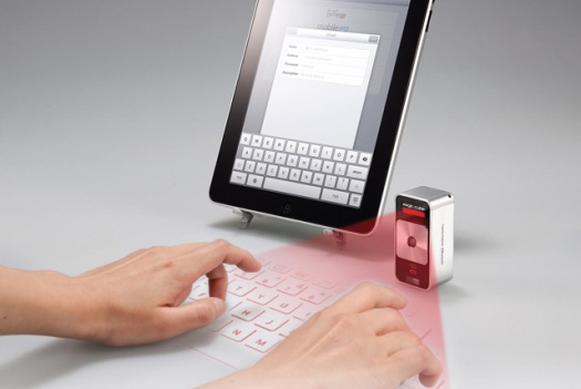 Typing with the Magic Cube